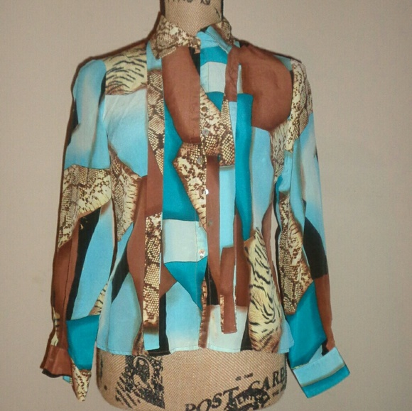 Worthington Tops - Multi-colored Worthington blouse